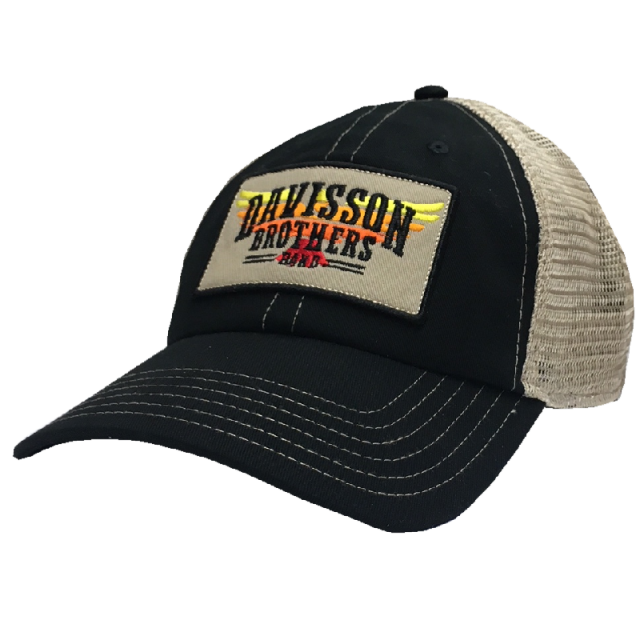 Davisson Brothers Band Black and Khaki Ballcap