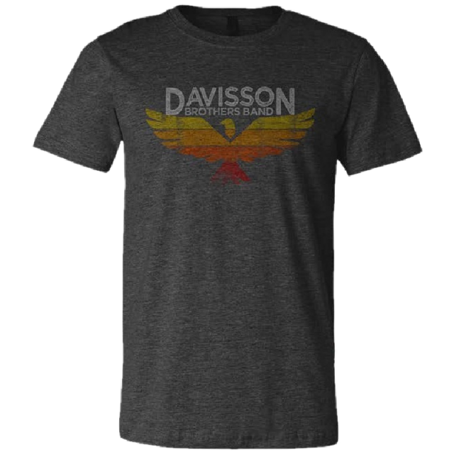 Davisson Brothers Band Unisex Dark Grey Heather Tee